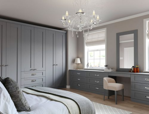Finsbury Bedroom Dust Grey