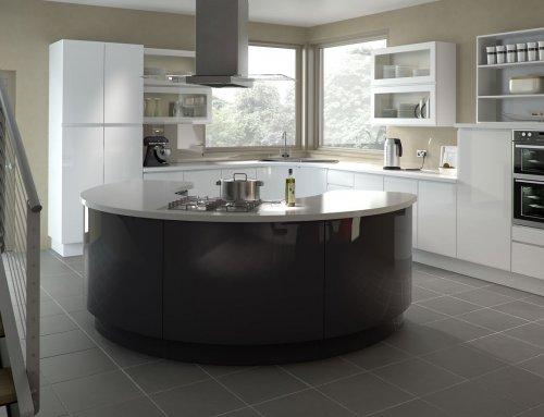 Gallo Gloss White Kitchen