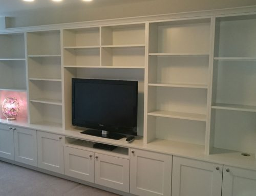 Home Library TV Unit