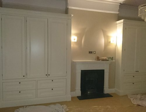 Ivory In-frame Bedroom Wardrobes