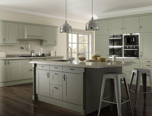 Malham Painted Sage Olive Kitchen