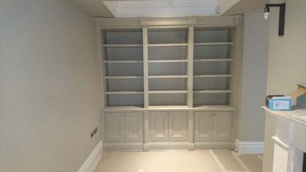 Rathfarnham painted bookcase