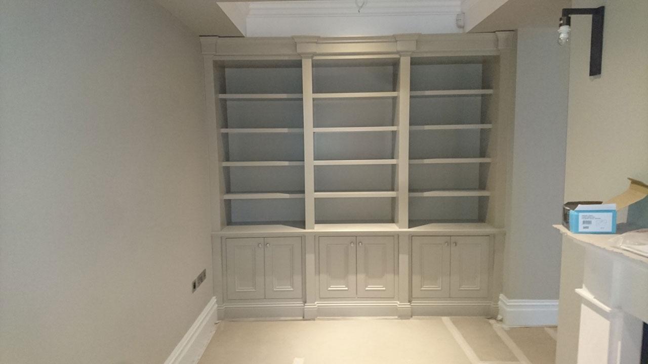 Rathfarnham painted bookcase