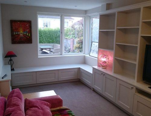 Rathfarnham Painted Window Seat
