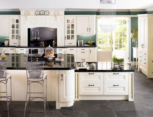 Sheriton Painted Ivory Solid Hardwood Kitchen